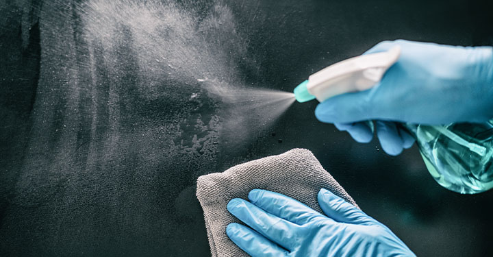 Disinfectant claims – where do they come from, and can we trust them?
